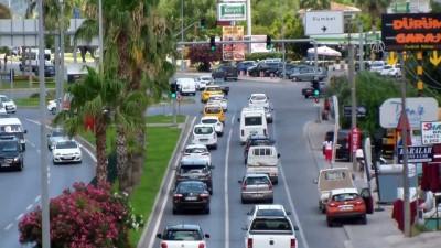 trafik yogunlugu - Tatilciler dönüş yolunda - MUĞLA