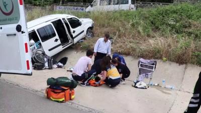 Trafik kazası: 2 yaralı - TEKİRDAĞ