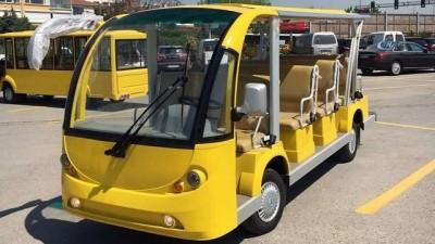 - Adalar'da elektrikli araçlar yolcu taşıyacak