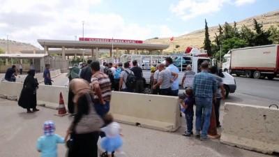 Cilvegözü Sınır Kapısı'nda bayram dönüşleri başladı - HATAY