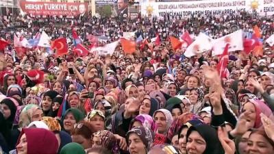 Cumhurbaşkanı Erdoğan: '(İnce) Onca lafı arasında bir tane doğru bulamayınca ülkem ve milletim adına üzülüyorum' - ORDU