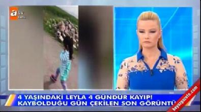Leyla'nın kaybolmadan hemen önce kaydedilen görüntüleri Müge Anlı'da yayınlandı