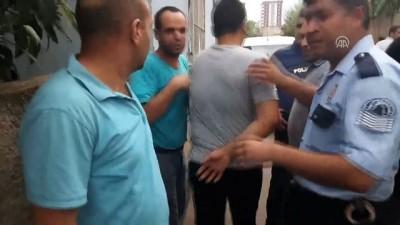 Saldırgana linç girişimini polis önledi - ADANA