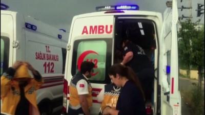 Üç otomobil çarpıştı: 5 yaralı - DÜZCE