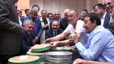 GTB'de günün ilk buğday satışını üretici adına Adalet Bakanı Gül yaptı - GAZİANTEP