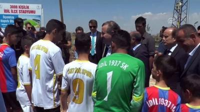 İdil'e 3 bin kişilik stadyum ile spor tesisi kazandırılıyor - ŞIRNAK
