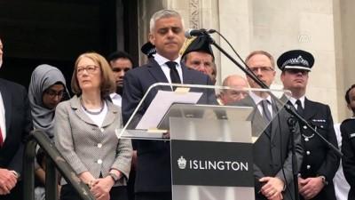 İslamofobik saldırının yıl dönümünde anma töreni - LONDRA