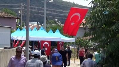 İzmir'de şehit acısı