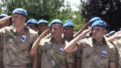 Şehit asker için tören - SİİRT