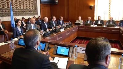 Suriye'de anayasa komisyonu kurulmasına ilişkin toplantı başladı - CENEVRE