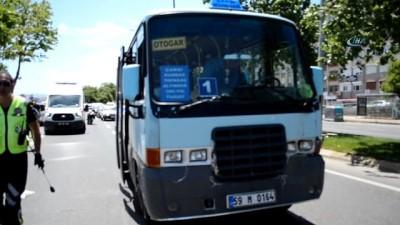 Tekirdağ'da kaza...Yolcu minibüsleri çarpıştı: 4 yaralı