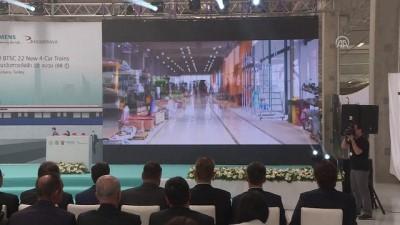 Türkiye'nin ilk metro ihracatı için tören - ANKARA
