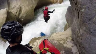 Valla Kanyonu'nun tabanındaki değişiklikler araştırıldı - KASTAMONU