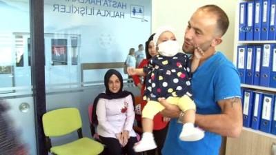 5 aylık Irmak babasının karaciğeriyle hayata tutundu