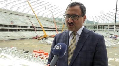 Adını fındıktan alan 'Çotanak Stadı' yıl sonu tamamlanacak - GİRESUN