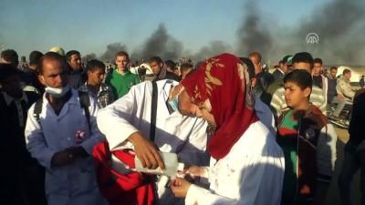 (ARŞİV) Gazze sınırında gönüllü kadın doktor Razan şehit oldu (2) - GAZZE