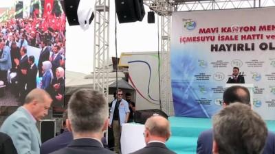 Cumhurbaşkanı Erdoğan: 'Bu projenin toplam yatırım bedeli 650 milyon lira' - KONYA
