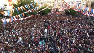Cumhurbaşkanı Erdoğan: '(Muharrem İnce) İmam hatibe gitseymiş o da cumhurbaşkanı olurmuş' - AKSARAY