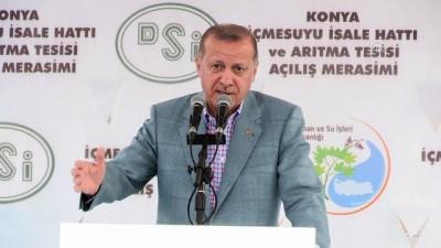Cumhurbaşkanı Erdoğan: 'Yüzde 98'i yakaladığınıza göre, yüzde 100 de olur' - KONYA