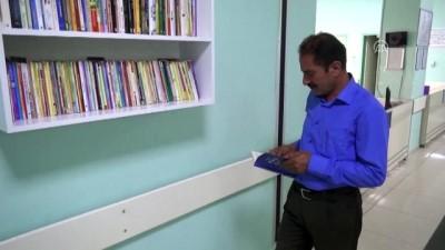 Hasta ve hasta yakınlarını kitaplarla buluşturdu - ŞIRNAK