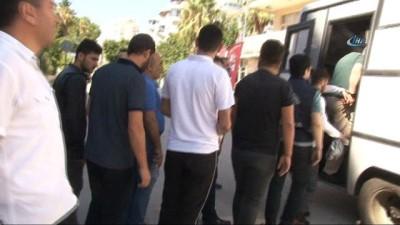 Antalya'da hırsızlara şafak operasyonu