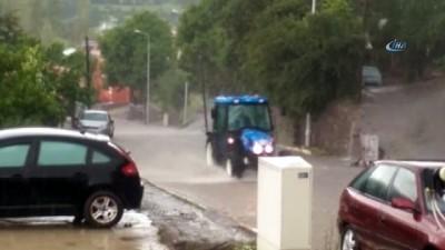 Ardahan'da sağanak yağış etkili oldu