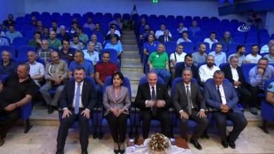 Bakan Özlü'den amatör spor kulüplerine destek