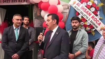 Bakan Tüfenkci, spor salonu açılışına katıldı - MALATYA