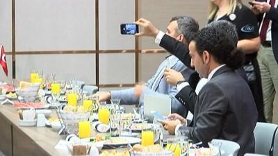 Cumhurbaşkanı adayı İnce, Genel Yayın Yönetmenleriyle görüşüyor