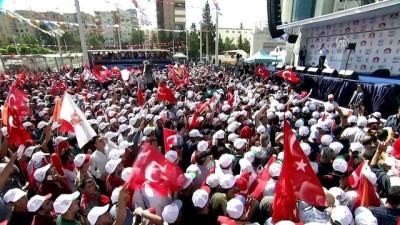 Cumhurbaşkanı Erdoğan: 'Senin partinin milletvekili, ikna odalarında benim başörtülü kızlarımın başlarını açtı' - ŞANLIURFA