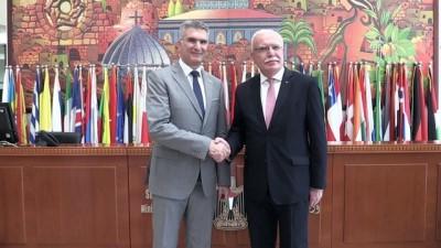Filistin ve Malta dışişleri bakanları görüştü (1) - RAMALLAH