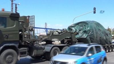 Kırıkhan'da konuşlu tanklar başka birliklere sevk edildi