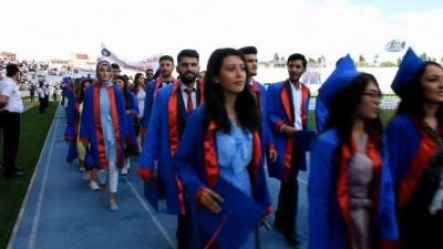 Kırıkkale Üniversitesi 5 bin mezun verdi