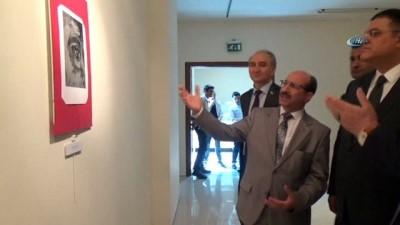 """Mahkeme başkanından, """"Şehit Savcı Mehmet Selim Kiraz"""" anısına resim sergisi"""