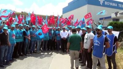 Metal işçileri greve çıktı - ZONGULDAK