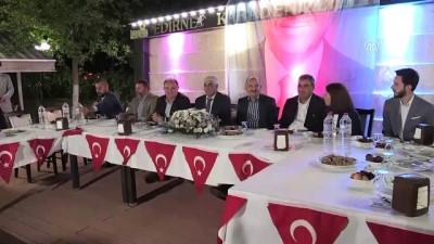 Müezzinoğlu: 'Türkiye'yi büyüteceğiz'- EDİRNE