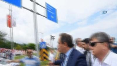 Ordu-Giresun Havaalanı'nda Kılıçdaroğlu'nu bekleyen taksiciler ile polis arasında gerginlik