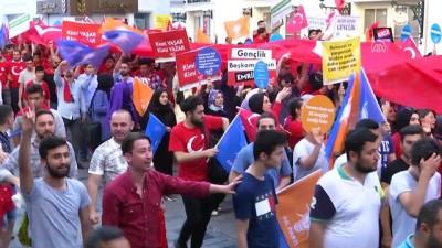 'Sen de bize katıl, geleceğe birlikte yürüyelim' - İSTANBUL