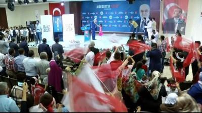 Temel Karamollaoğlu'dan Hatay'da E-Miting