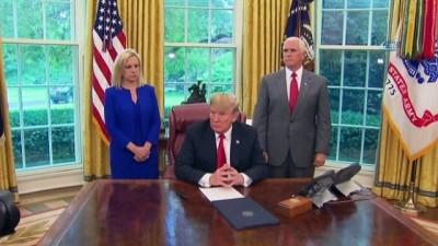 - Trump, Aile Ayrılığını Durduran Kararnameyi İmzaladı