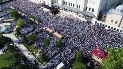 Abdülmetin Balkanlıoğlu'nu son yolculuğuna binlerce kişi uğurladı