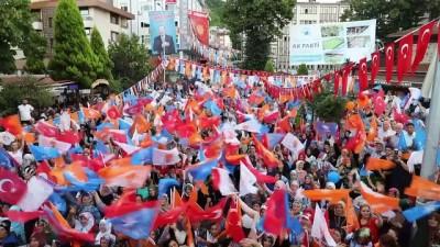 Bakan Bak: 'Erdoğan, milletin içinden gelen lider, bu toprakların çocuğu' - RİZE