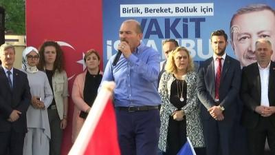 Bakan Soylu: 'Amerika'ya yalakalık, şirinlik yapmak için, üç-beş oy için yapıyorlar' - İSTANBUL