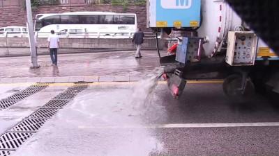 Başkentte kuvvetli yağış hayatı olumsuz etkiledi (4) - ANKARA