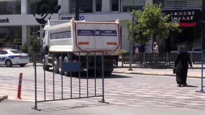 Cumhurbaşkanı Erdoğan'ın mitingi öncesi güvenlik tedbirleri arttırıldı - GAZİANTEP