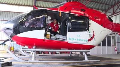 Hava ambulansı ve askeri helikopter hastalar için havalandı - İZMİR