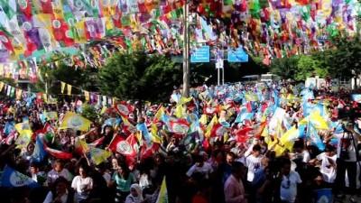 HDP Eş Genel Başkanı Pervin Buldan Siirt'te miting yaptı
