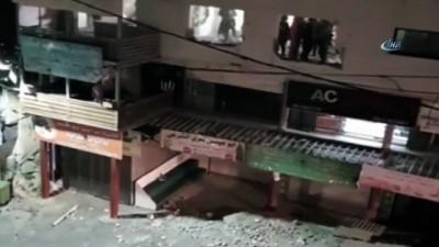 - İsrail Askerleri, Filistinli Ailenin Evini Yıktı