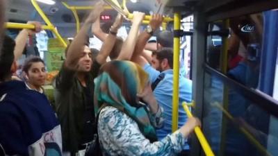 Minibüste yolcu kadın ile şoför arasında Kemal Sunal filmini hatırlatan diyalog Haberi