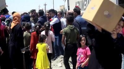 Türk Kızılayı ve AFAD'dan Telaferli Türkmenlere insani yardım (1) - MUSUL